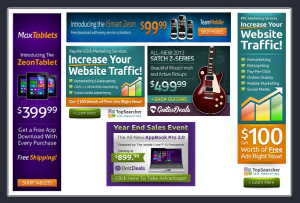 Web Banner Designs