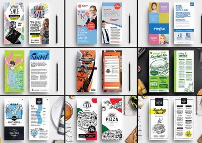 DL Rack Card Designs